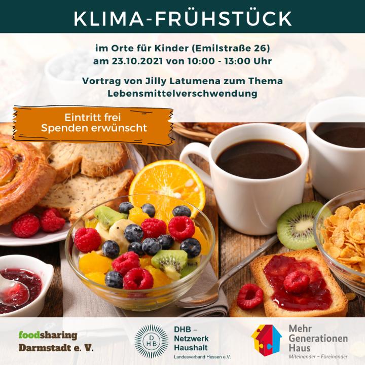 Klimafrühstück @ Orte für Kinder